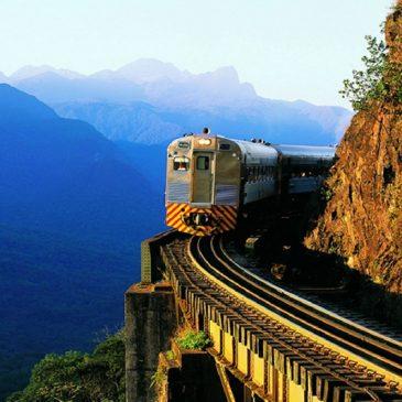 Vans para passeio de trem Serra do Mar