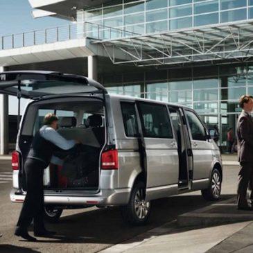 Locação de vans para transfer aeroporto